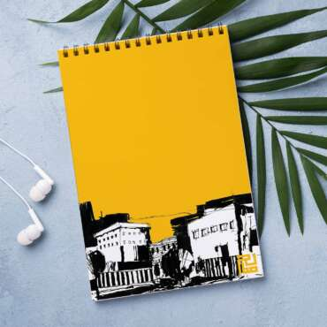 Notbook, Design inspired from the urban environment in Amman and it's architecture.